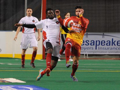 The Baltimore Blast defeated the Pennsylvania Roar, 29-0, at Baltimore Arena on Saturday night.