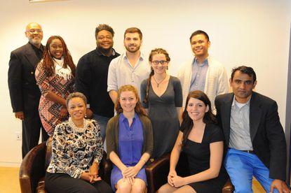 The 2015 OSI-Baltimore Community Fellows.
