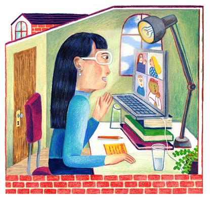 A handful of classic techniques and some tips unique to the work-from-home era can help you land that next job. The in-person job interview went away when offices emptied this spring because of the coronavirus pandemic. (Joohee Yoon/The New York Times)