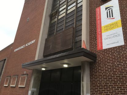 Renaissance Academy high school may be moving to the campus of Baltimore City Community College.