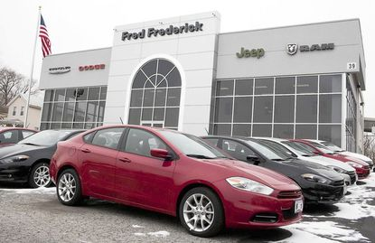 Fred Frederick's new 14,000-square-foot facility is on Route 1. The dealership first opened in Laurel in 1959.
