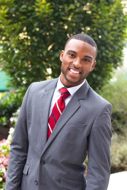 Brian Stewart says he was rejected from joining Morgan State University's chapter of the Kappa Alpha Psi fraternity because of his sexual orientation.