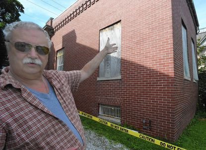 Historic Uniontown bank in danger of collapsing
