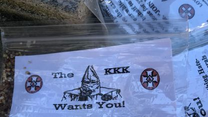 More KKK flyers found in South Baltimore's Riverside neighborhood