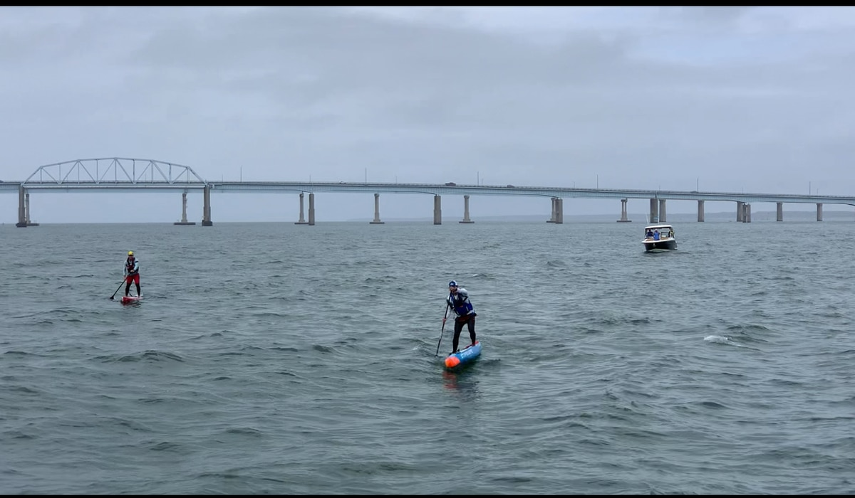 Arnold man completes stand-up paddle of Chesapeake Bay for Oyster Recovery Partnership