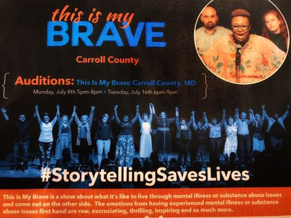 Auditions are open for the first This is My Brave Carroll County event.
