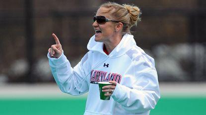 Terps women's lacrosse coach Cathy Reese.