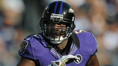 Ravens linebacker Jameel McClain