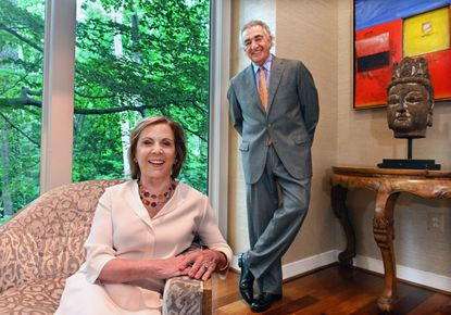 Thomas and Barbara Bozzuto, longtime supporters of the Baltimore community, are 2021 inductees into The Baltimore Sun's Business and Civic Hall of Fame.