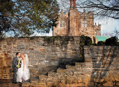 Lindsay Cummings and Robert Cirincione II were married at the Maryvale Castle in Green Spring Valley.