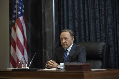 """Kevin Spacey in season 2 of Netflix's """"House of Cards."""""""