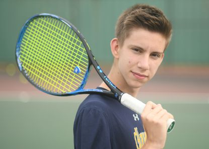 River Hill sophomore Alex Artazov is the 2021 Howard County boys tennis Player of the Year.