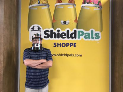 Chris McCormick is the co-founder of Shield Pals, a personal protective equipment store that opened in the Mall in Columbia on June 26.