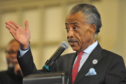 Rev. Al Sharpton gave the guest sermon at Macedonia Baptist Church of Baltimore City on the occasion of its 140th anniversary.
