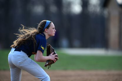 Catonsville junior Callie McCleary is a three-year varsity starter for the Comets. The Comet outfielder batted over .300 and helped out on the mound last season.