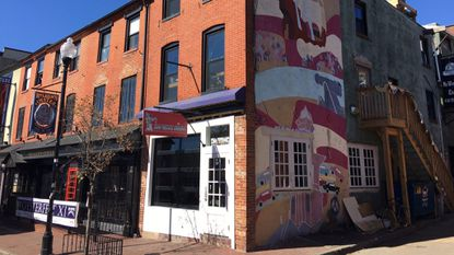 A recent exterior shot of No Way Jose Cafe in Federal Hill in preparation for a rebrand. On Thursday, the new bar concept —One Star Country Club — will debut to the public.