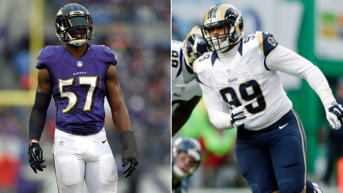 Aaron Donald Named Defensive Rookie Of The Year Beating Out Ravens C J Mosley Baltimore Sun