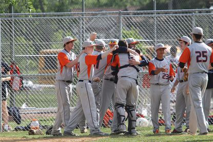 The Reservoir baseball team defeated Mt. Hebron, 8-2, May 17 in Ellicott City to win its first 3A East regional title.