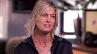 """Robin Wright was interviewed by """"Today"""" show host Savannah Guthrie."""