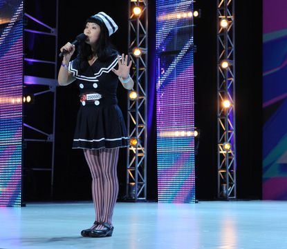 "Maryland contestant Changyi Li chose ""My Heart Will Go On"" for her ""X Factor"" audition."