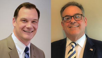Sean Bulson, left, and David Ring Jr. have been announced as the finalists to become the next superintendent of Harford County Public Schools.