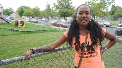 "Sonja Sohn, an actress from ""The Wire,"" directed the upcoming HBO documentary ""Baltimore Rising,"" which centers on the city in the wake of the death of Freddie Gray."