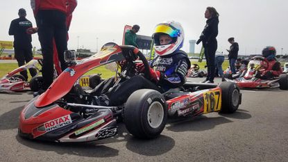 Ben Maier, an 11-year-old from Kent Island, competed in the US Rotax Grand Nationals go-kart competition over the weekend in Charlotte, North Carolina.