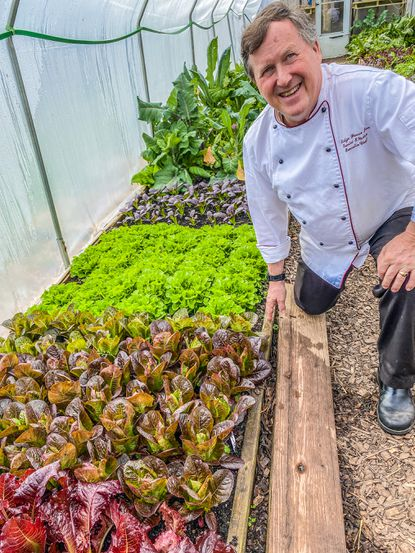 Dan Wecker, chef and owner of the Elkridge Furnace Inn, has launched a farmers market.