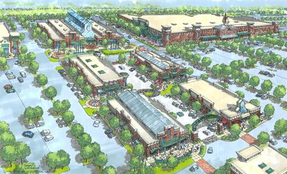 The Foundry Row project, expected to open in 2016, is currently 70 percent leased.