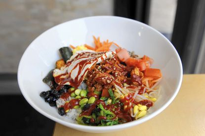 Brown Rice near Charles Village does Korean fast casual right