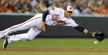 Calling up Manny Machado to play third base and moving Mark Reynolds to first have drastically changed the Orioles' defense in the second half of the season.
