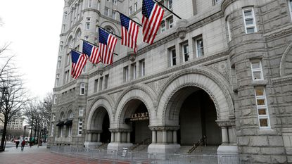 Maryland Attorney General Brian E. Frosh, a Democrat, has said Maryland is losing tax revenue because its hotels must compete with the Trump International Hotel in Washington.
