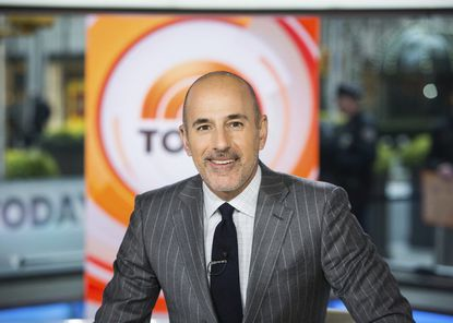 "Matt Lauer on the set of the ""Today"" show in New York in 2017."