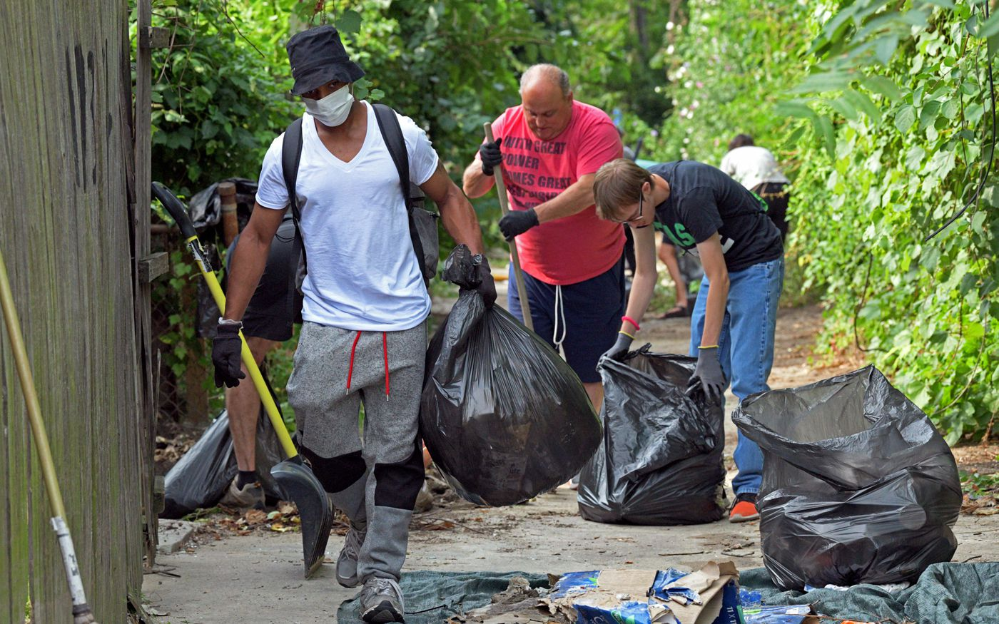 Image result for baltimore cleanup before after