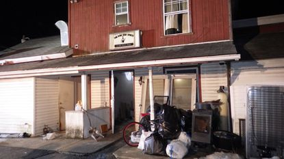 The Office of the State Fire Marshal is investigating a fire that occurred early Wednesday, Feb. 20 at this commercial and residential building on Littlestown Pike.