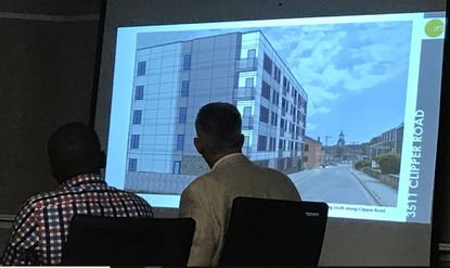 Revised design offered for Clipper Road apartments on site where stone homes were razed
