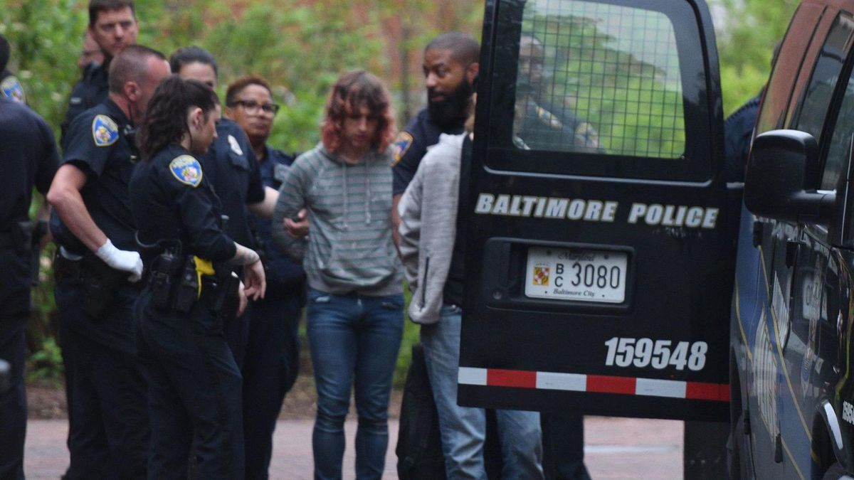 7 Johns Hopkins protesters arrested after monthlong sit-in at