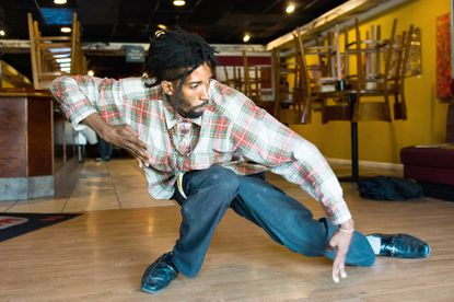 Longtime popper Talbolt Johnson mixes dance with personal philosophy