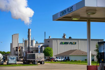 The Corn Plus ethanol plant on May 22, 2015, in Winnebago, Minn.