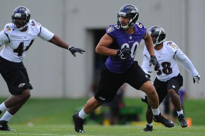 Ravens happy with Gillmore