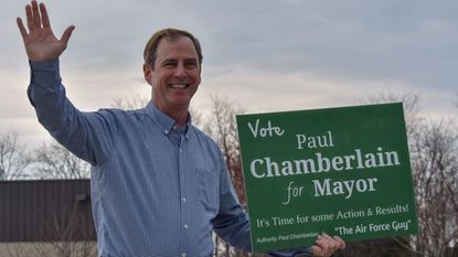 Former Taneytown City Councilman Paul Chamberlain is running for mayor.