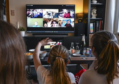 One brand that has benefited from the lockdown is Zoom which offers free video conferencing software that schools all over have adopted as their go-to choice for distance learning. But are students getting a lot out of video conferencing? That's another question.