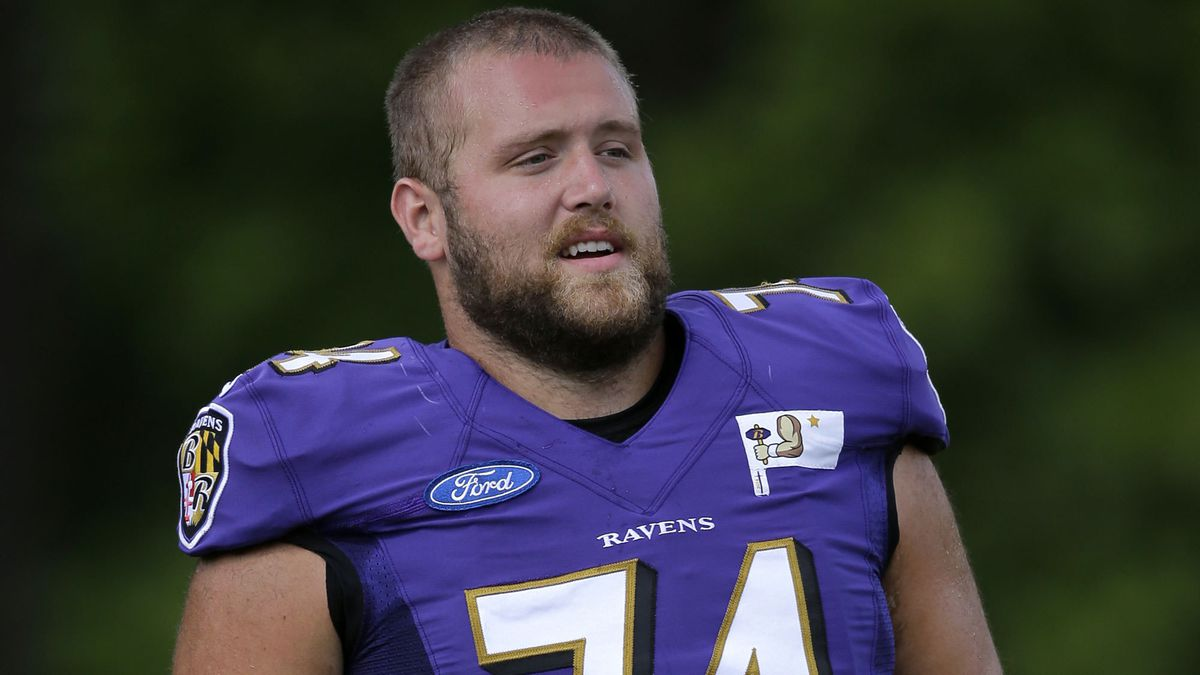 Ravens release offensive lineman James Hurst, who faced four-game ...