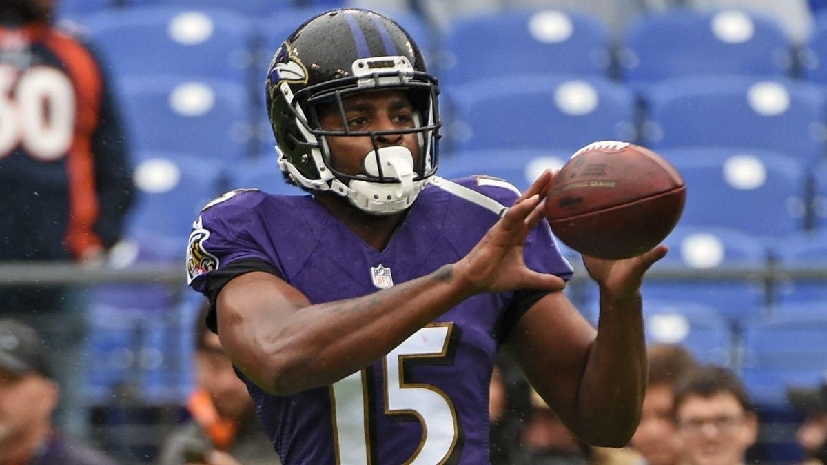 3cd24275 Ravens cut Michael Crabtree, setting stage for another overhaul of  receiving corps - Baltimore Sun