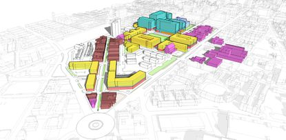 New developers of Old Town Mall site provide first glimpse of plans