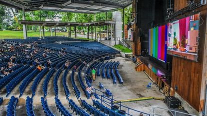 Merriweather Post Pavilion is an amphitheater located in Columbia.