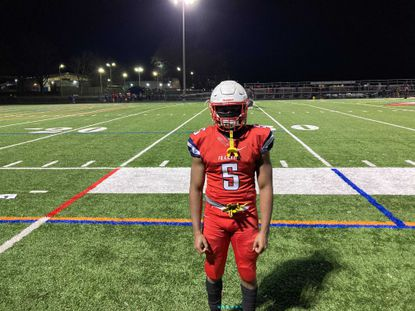 Rodney Nelson took off for two touchdowns in a 34-7 victory over Hereford on Friday night.