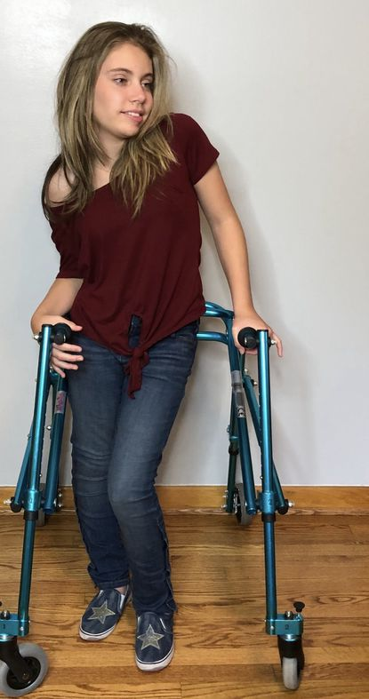 Faith Guilbault, 16, of Bel Air, models adaptive clothing designed for people with disabilities on behalf of the Runway of Dreams Foundation. Recently, she participated in a virtual version of Runway of Dreams' annual Adaptive Fashion Show.