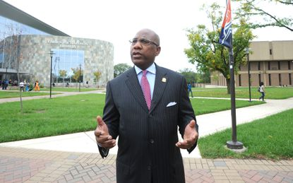 Morgan State University President David Wilson is proposing an expansion in the size and jurisdiction of the campus police. Two Morgan students were shot and killed near campus in the last six months.