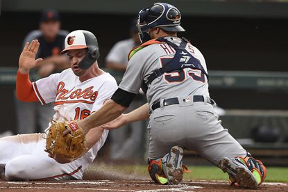 Trey Mancini, left, says the Orioles are motivated to avoid a late-season slide that would earn them the label as the worst team in baseball.